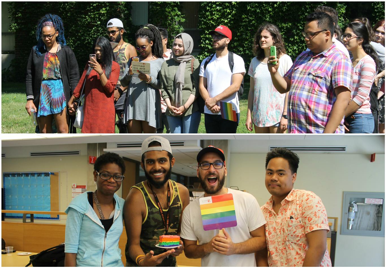 Student groups celebrate Pride at Glendon Campus.