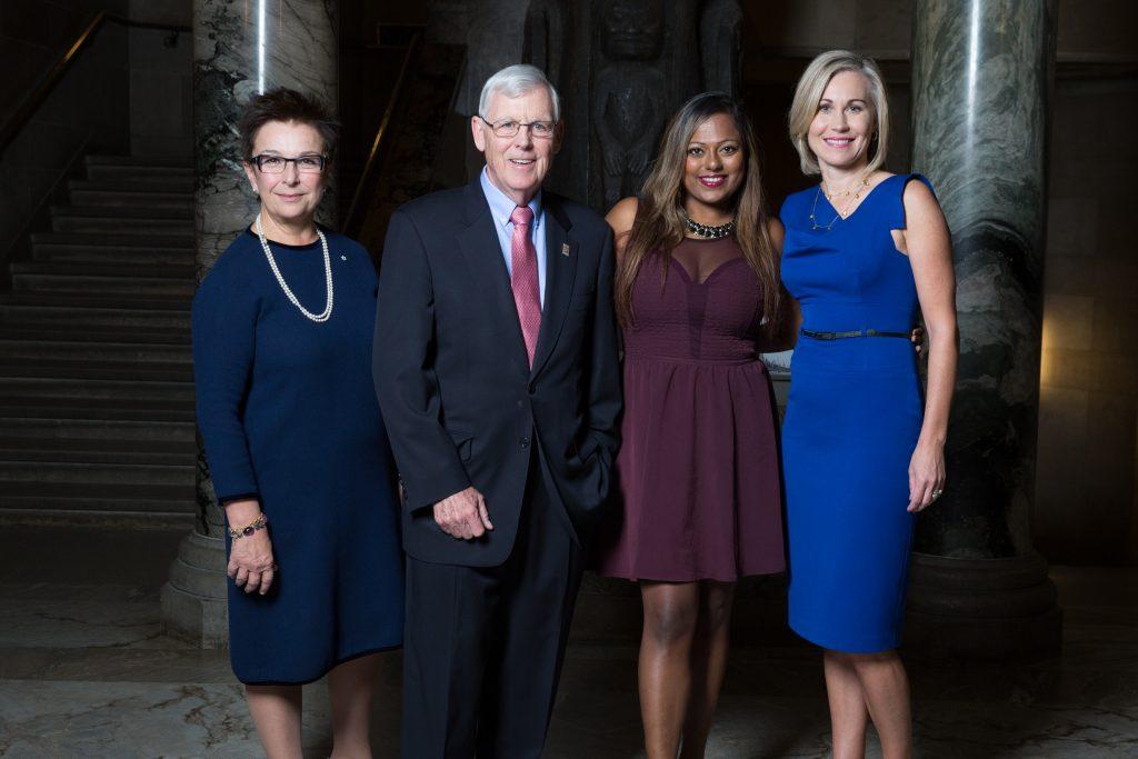 Photo of Bryden Alumni Award winners